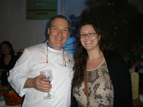 with Jacques Torres at New Taste of the Upper West Side