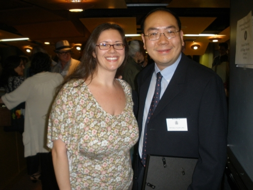 with David Wong at Greenwich Village Historic Preservation Society Awards