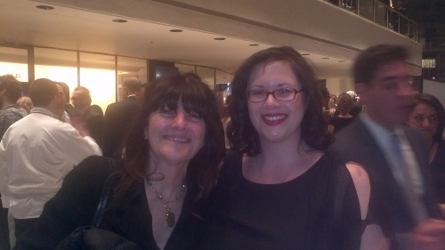 with Ruth Reichl at James Beard Awards