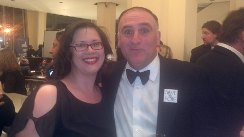 me with Jose Andres at James Beard Awards